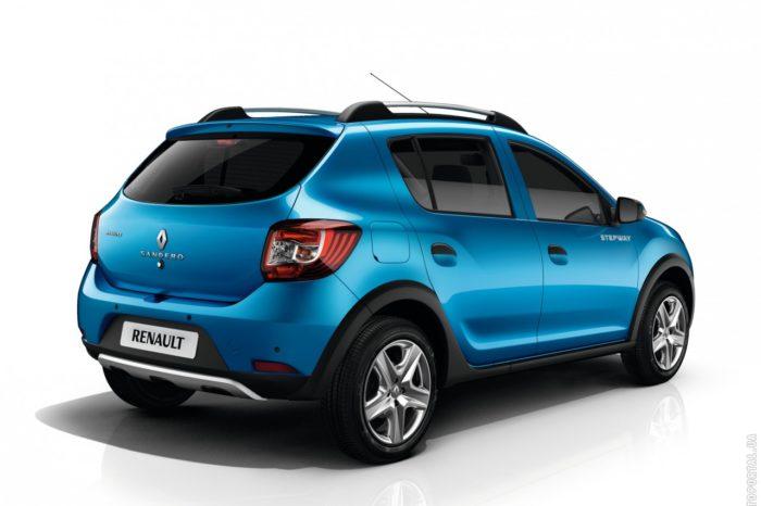 Прокат Renault Sandero Stepway 1.6 (АКП)
